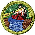 Whitewater Merit Badge Emblem