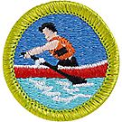 Rowing Merit Badge Emblem