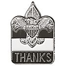 Thanks Lapel Pin