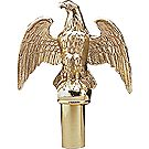 Eagle Emblem Flag Pole Topper