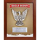 Custom - Eagle Scout® Mahogany Shadowbox Plaque
