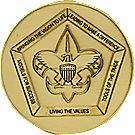 Wood Badge Recognition Coin