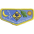 Cub Scout Outdoor Activity Emblem