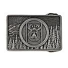 National Camping School Belt Buckle