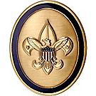 Oval Tenderfoot Rank Coin