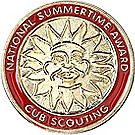 Wolf National Summer Time Award Pin
