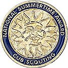 Webelos National Summer Time Award Pin