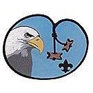 Wood Badge Eagle Lapel Pin
