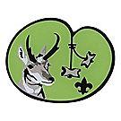 Wood Badge Antelope Lapel Pin