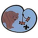 Wood Badge Bear Lapel Pin