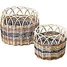 Individual Round Basket