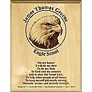 Eagle Scout® Laser Plaque