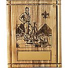 The Scoutmaster Laser-Engraved Plaque