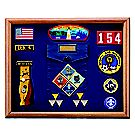 Cub Scout Award Frame, 13 inch x 16 inch