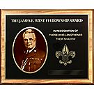 J E West Fellowship Plaque