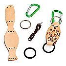 Leather Kit with Bottle Carabiner