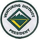 Venturing District President Emblem