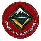 Council Venturing Chairman Emblem