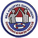 Swimming Water Rescue Emblem