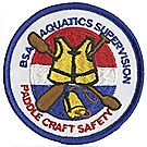 Paddle Craft Safety Emblem