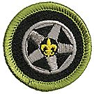 Auto Maintenance Merit Badge Emblem
