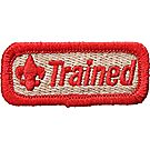 Trained Red Emblem