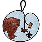 Wood Badge Bear Emblem