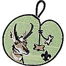 Wood Badge Antelope Emblem