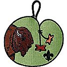 Wood Badge Buffalo Emblem