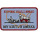 Historic Trail Award Emblem (Embroidered)
