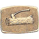 Wood Badge Brass Belt Buckle