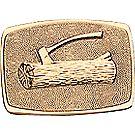 Wood Badge Brass Belt Buckle