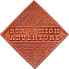National High Adventure Emblem - Leather