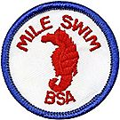 BSA® Mile Swim Emblem