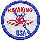 Kayaking Emblem