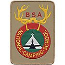 National Camp School Staff Employee Emblem