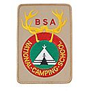 National Camping School Jacket Emblem