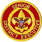 Senior District Executive Emblem
