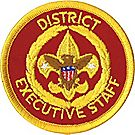 District Executive Staff Emblem