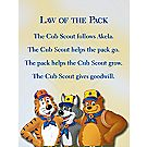 Cub Scout Promise Posters