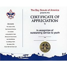 scout certificates template - cub scout uniform insignia location boy scout leader