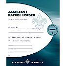 Assistant Patrol Leader Certificate