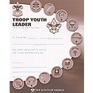 Youth Leader Troop Certificate