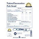 Cub Scout Summertime Pack Award Folder