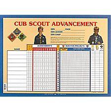 Cub Scout Advancement Chart