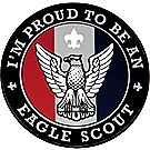 Im Proud to be an Eagle Scout -  Vinyl Sticker