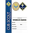 Webelos Pocket Certificate, Single