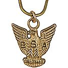 10k Gold Mini Eagle Charm