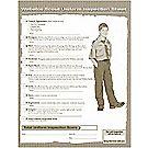 Webelos Uniform Inspection Form