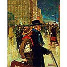 A Daily Good Turn, 1918 Unframed (Print/Canvas)